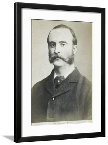Charles Stewart Parnell--Framed Art Print
