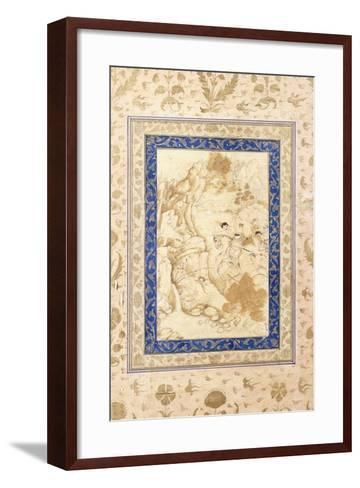 Hunting Scene, C. 1660-80--Framed Art Print