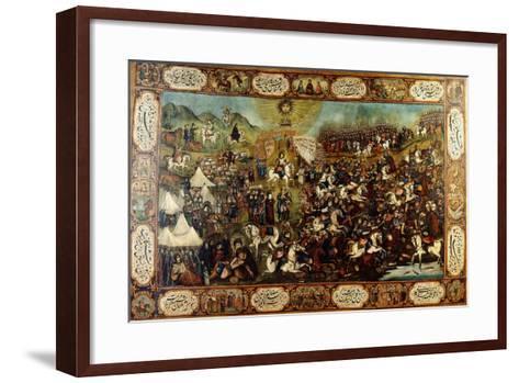 The Martyrdom of Huseyn, C. 1860-70--Framed Art Print