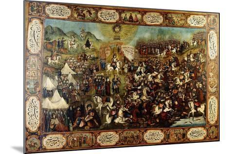 The Martyrdom of Huseyn, C. 1860-70--Mounted Giclee Print