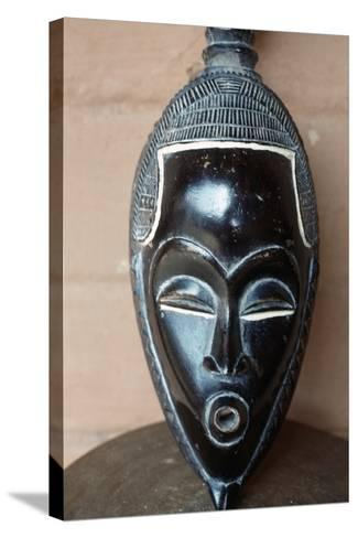 Traditional Mask from Benin--Stretched Canvas Print