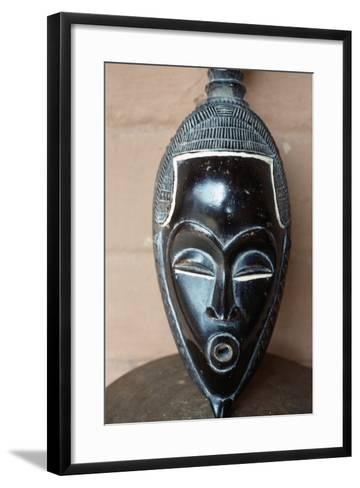 Traditional Mask from Benin--Framed Art Print