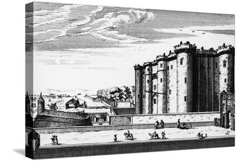 Bastille, Paris, France, 17th Century--Stretched Canvas Print