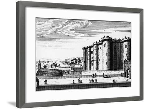 Bastille, Paris, France, 17th Century--Framed Art Print