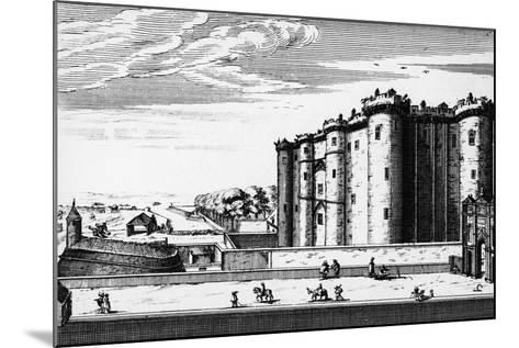 Bastille, Paris, France, 17th Century--Mounted Giclee Print