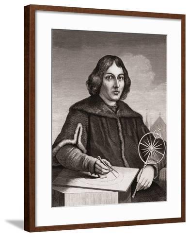 Nicolaus Copernicus, C.1850--Framed Art Print