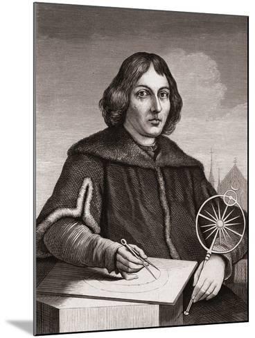 Nicolaus Copernicus, C.1850--Mounted Giclee Print