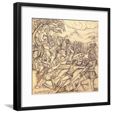 The Crucifixion, C.1650--Framed Art Print