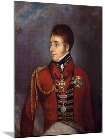 Major-General the Honourable Sir William Ponsonby, C.1815--Mounted Giclee Print