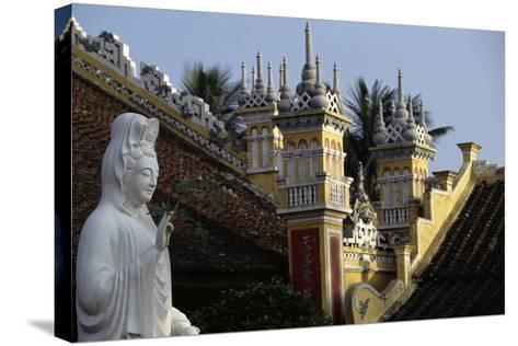 Du Hang Pagoda Temple, Hai Phong, Vietnam--Stretched Canvas Print