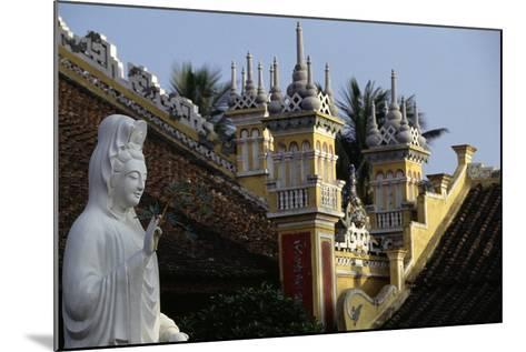 Du Hang Pagoda Temple, Hai Phong, Vietnam--Mounted Giclee Print