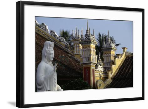 Du Hang Pagoda Temple, Hai Phong, Vietnam--Framed Art Print
