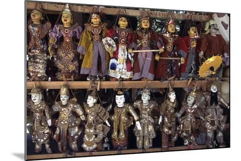 Handcrafted Puppets, Mandalay, Myanmar--Mounted Giclee Print