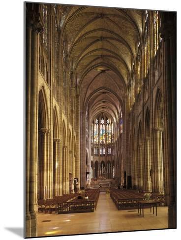 Interiors of a Church, Saint Denis Basilica, Ile-De-France, France--Mounted Giclee Print