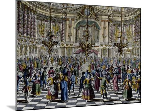 Gala Ball, Colour, Italy, 18th Century, Detail--Mounted Giclee Print