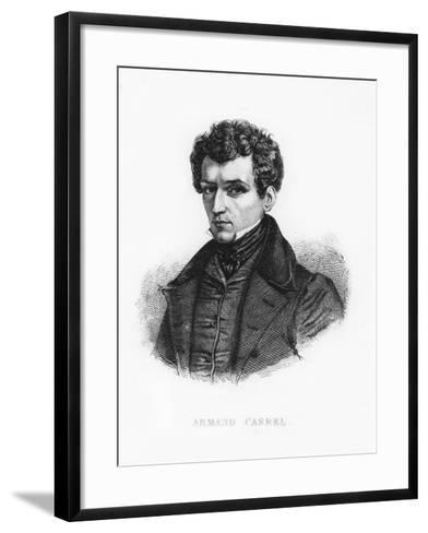 Armand Carrel--Framed Art Print