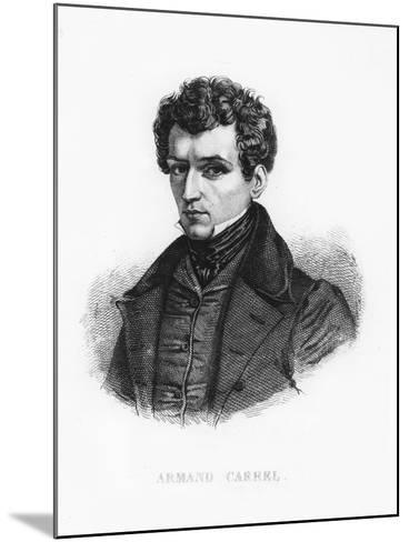 Armand Carrel--Mounted Giclee Print