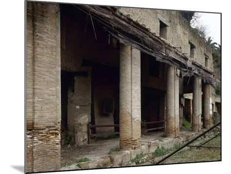 Italy, Herculaneum, House Next to the Forum, Ruins--Mounted Giclee Print
