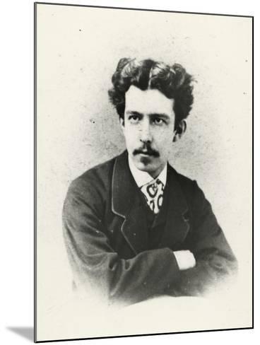 Antonio Fogazzaro (Vicenza 1842 -1911), Italian Writer and Poet--Mounted Giclee Print