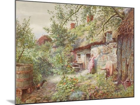 Old Cottage--Mounted Giclee Print