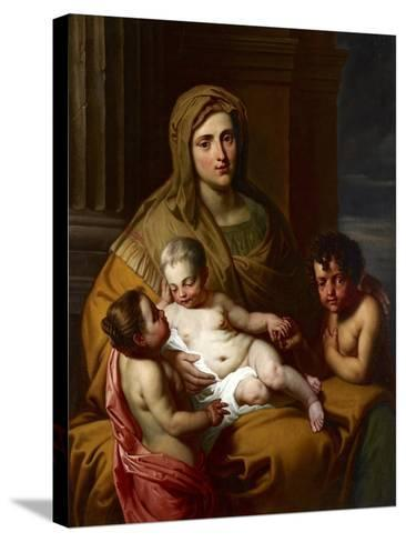 Charity, Late 17th Century--Stretched Canvas Print