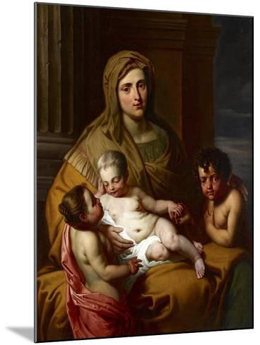 Charity, Late 17th Century--Mounted Giclee Print