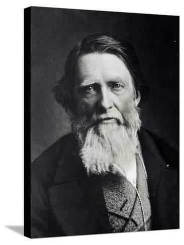 John Ruskin, 1879--Stretched Canvas Print