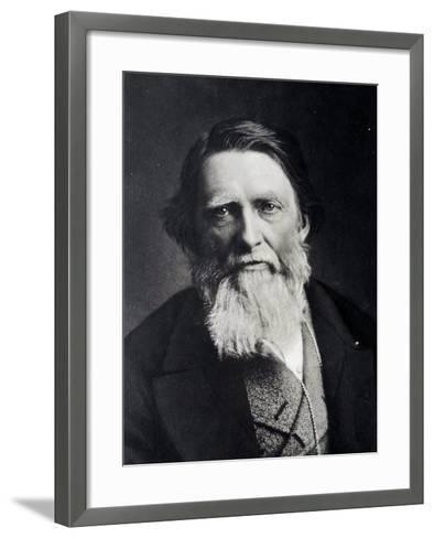 John Ruskin, 1879--Framed Art Print