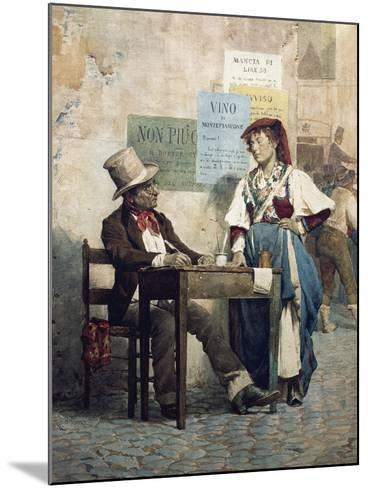 Public Scribe, Italy, 19th Century--Mounted Giclee Print