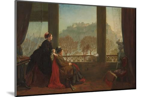 Portrait of the Baroness Burdett Coutts and Her Companion Mrs. Brown, Edinburgh, 1874--Mounted Giclee Print