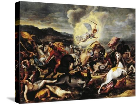 Destruction of the Armies of Sennacherib, Late 16th-Early 17th Century--Stretched Canvas Print