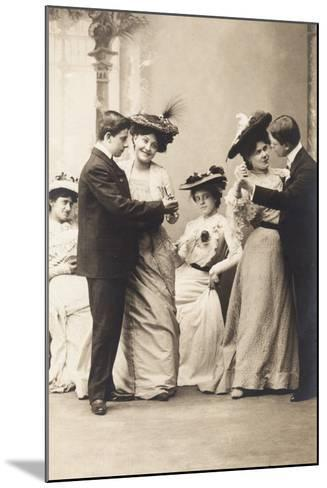The Casino Ball, from the 'Fantaisies' Series, 1900--Mounted Photographic Print