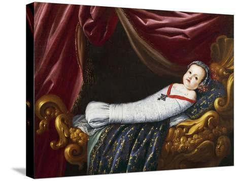 Royal Baby, 19th Century--Stretched Canvas Print