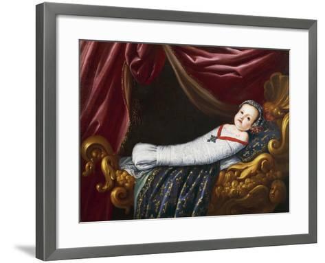 Royal Baby, 19th Century--Framed Art Print