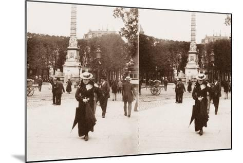 Stereoscopic View of Pont Au Change, Paris, 1890--Mounted Photographic Print