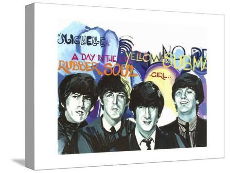 Beatles (1962-1970), English Rock Band--Stretched Canvas Print