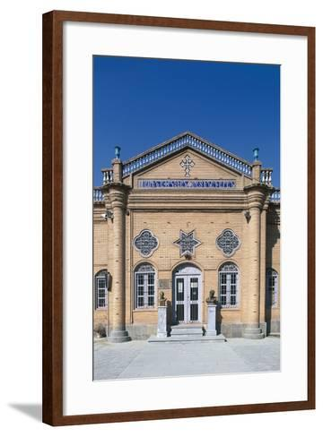 Armenian Cathedral of Vank or Kelisa-E-Vank, 1655-1664, Isfahan, Iran--Framed Art Print
