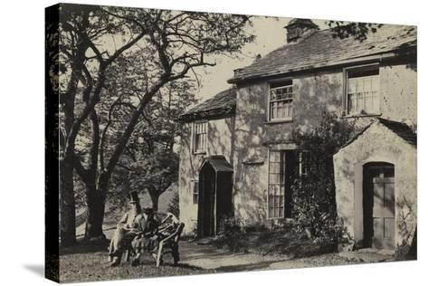 Elleray Cottage, Windermere, UK, Late 19th Century--Stretched Canvas Print