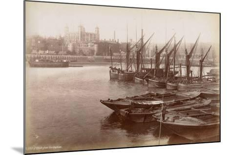 Tower of London from Horsleydown, London, C.1885--Mounted Photographic Print