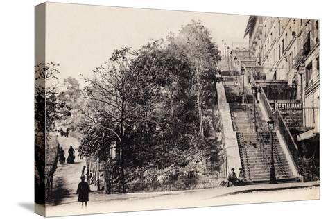 Rue Muller, Montmartre, Paris, 1890--Stretched Canvas Print