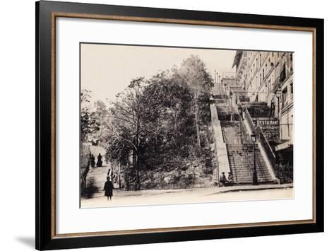 Rue Muller, Montmartre, Paris, 1890--Framed Art Print