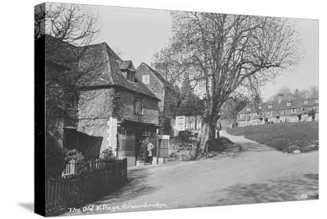Old Village, Groombridge, East Sussex--Stretched Canvas Print