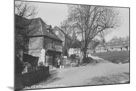 Old Village, Groombridge, East Sussex--Mounted Photographic Print