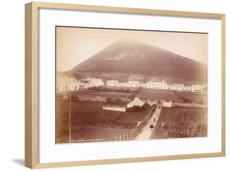 The Colony, Achill Island, Ireland--Framed Art Print