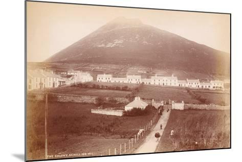 The Colony, Achill Island, Ireland--Mounted Photographic Print