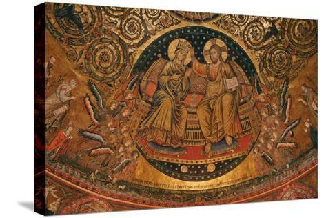 Coronation of the Virgin, 1296--Stretched Canvas Print