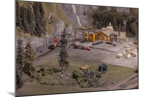 The Great Train Story Exhibit at the Museum of Science and Industry--Mounted Photographic Print
