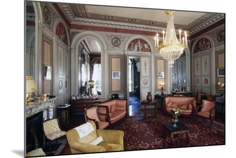 Hall of Chateau Marey-Monge, Chateau of Pommard, Burgundy, France--Mounted Photographic Print