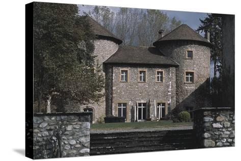 Chateau Bayard, 15th Century, Pontcharra, Rhone-Alpes, France--Stretched Canvas Print