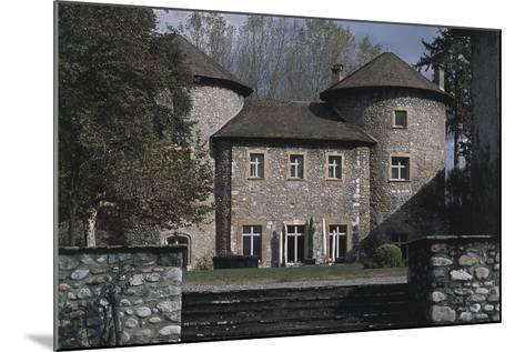 Chateau Bayard, 15th Century, Pontcharra, Rhone-Alpes, France--Mounted Photographic Print